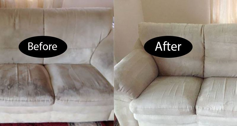 Lounge suite cleaning