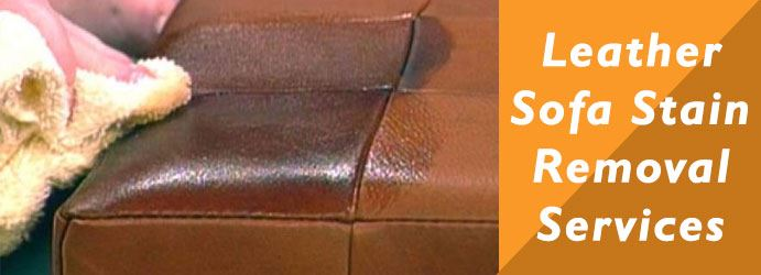 Leather Sofa Stain Removal Services in St Clair