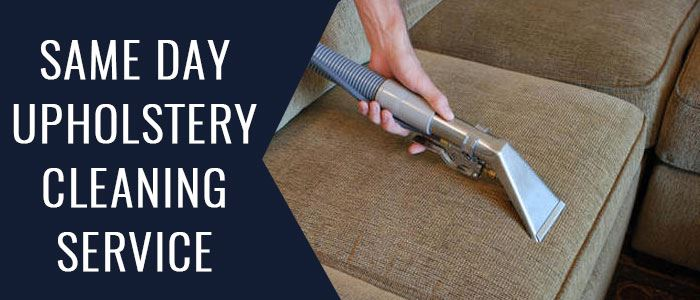 Same Day Upholstery Cleaning Service