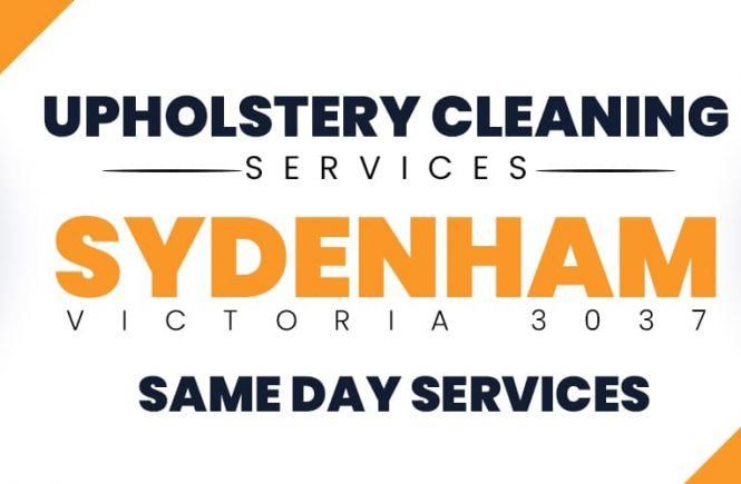 Upholstery Cleaning Sydenham